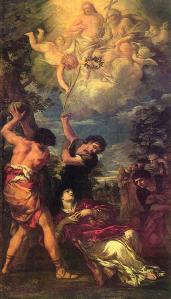 Stoning of St Stephen Pietro da Cortona 1660