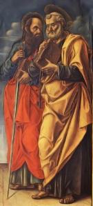 Saints Peter and Paul Vivarini Bartolomeo