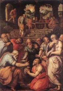 Vasari_The_Prophet_Elisha feeds 100
