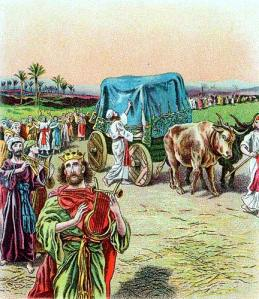 ark brought to Jerusalem