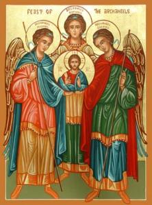 saints michael gabriel raphael